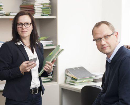 Bild von Rechtsanwälten in Schwerin RAin Heike Rosenau und RA Reno Haberer