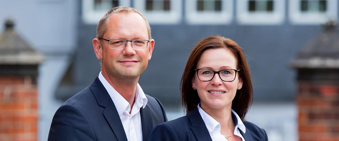 Anwalt in Schwerin Reno Haberer und Heike Rosenau Slider
